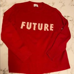 Red Cashmere Future Sweater from Paris!